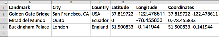 Latitude and Longitude in Excel: Calculate Distance, Convert